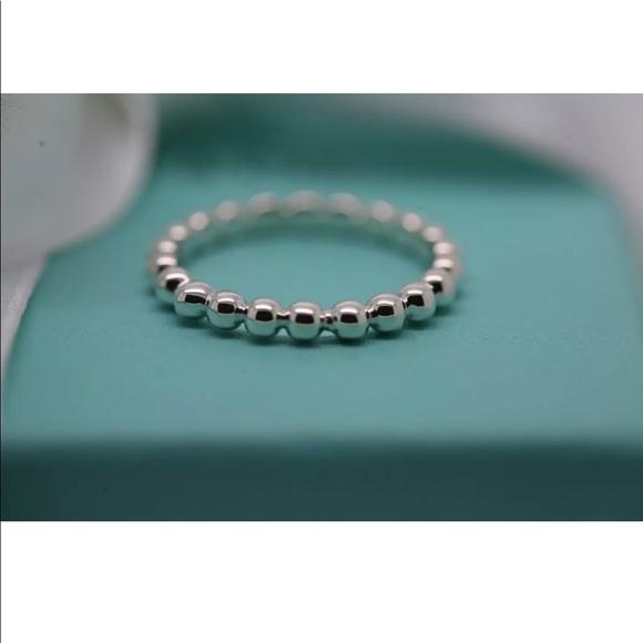 25b83f8b7 Tiffany & Co. Jewelry | Tiffany Co Ziegfeld Beaded Ring | Poshmark